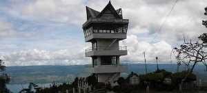 Menara padang Tele Samosir