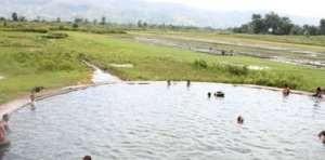 Pemandian Air Soda Desa parbabu Taturung