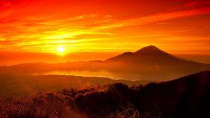 Panorama Matahari Terbenam