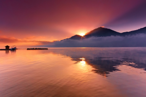 Keindahan Danau Batur