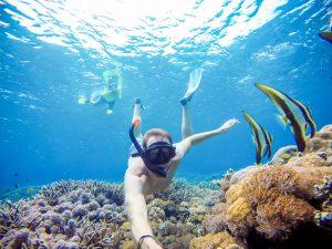 Menyelam di Nusa Lembongan