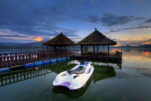 Kegiatan di Danau Batur