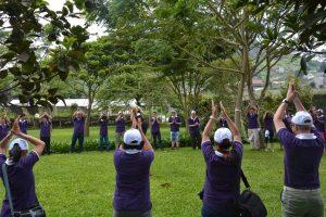 Fasilitas Outbound Taman Bunga Begonia