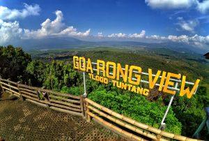 Fasilitas Wisata Goa Rong