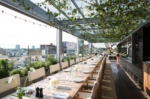 Boundary restaurant rooms & rooftop
