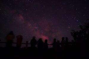 Star Gazing di Lake Mashu, Hokkaido