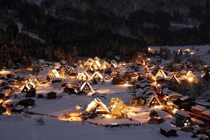 Shirakawago Winter Light-Up, Gifu