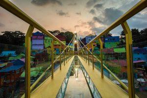 Jembatan Kaca Kampung Jodipan