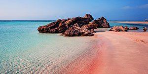 Pantai Elafonissi, Yunani