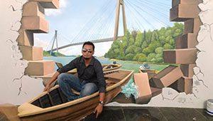 Batam 3D Trick Art Museum