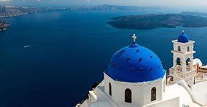 Pulau Santorini, Yunani