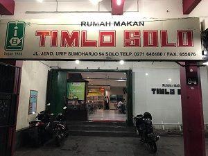 Rumah Makan Timlo Solo