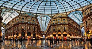 Galleria Vittorio Emanuele II, Italia