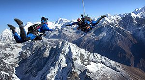 Skydiving di Nepal