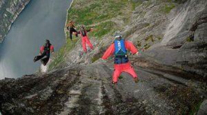 Kjerag Cliff, Norwegia