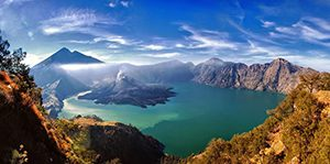 Gunung Rinjani, Indonesia