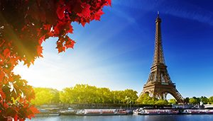 Menara Eiffel, Perancis