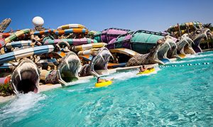Yas Waterworld Abu Dhabi, Uni Emirat Arab