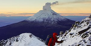 Gunung Popocatepetl, Meksiko