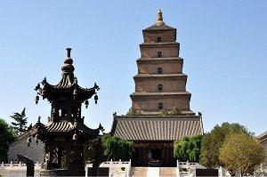 Pagoda Angsa Liar Besar