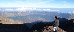 Mendaki ke puncak Rinjani