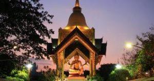 Patung Budha 4 Wajah