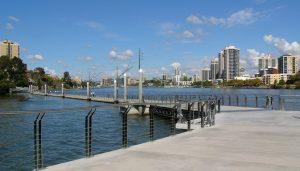 Brisbane River Floating Walkway