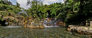 Sari Ater Hot Spring Water