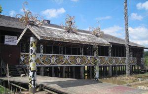 rumah adat Balikpapan