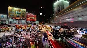 Bukit Bintang Walkway atau The Golden Triangle