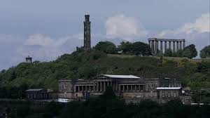 Calton Hill dan The Scottish National Monument
