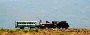 Museum Lokomotif Kereta Stasiun Cikampek