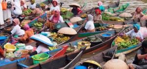 Pasar Terapung Kuin