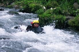 River Boarding di Kali Pusur