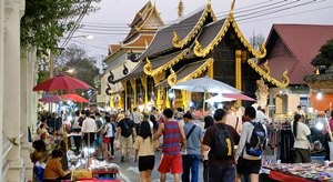 Sunday Walking Street Chiang Mai