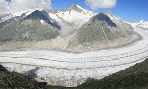 Aletsch Glacier, Warisan Dunia Unesco
