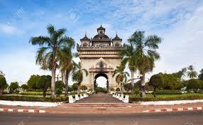 Monumen Patuxai-Vientiane