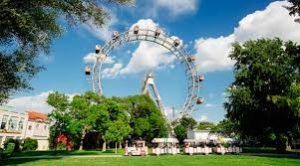 Prater Park dan Giant Ferris Wheel