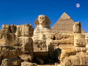 Piramida Khafre dan Sphinx