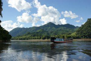 Sungai Mekong laos
