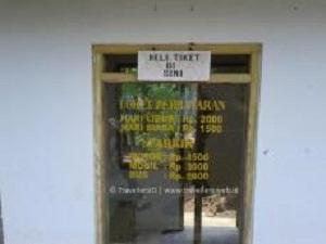 Tempat Penjualan Tiket Air Terjun Songgolangit