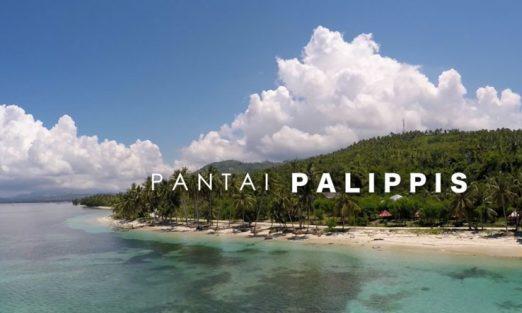satu lagi pantai yang dapat kamu jadikan sebagai tujuan destinasimu selama di sulawesi barat pantai palipis ini tidak kalah menarik dengan