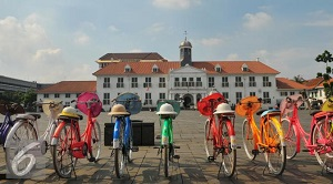 Lapangan Fatahillah Kota Tua Jakarta
