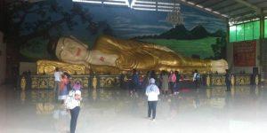 tempat wisata keluarga di bogor - Rupang Buddha Tidur