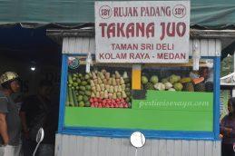 Kuliner Rujak Kolam Takano Juo Medan