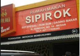 Rumah Makan Sipirok Medan