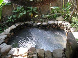 tempat wisata keluarga dibogor - Pemandian Air Panas Gunung Pancar