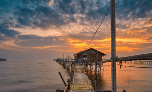 Keindahan Pantai Tanjung Pasir Tangerang