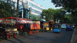 Wisata Kuliner Malam Jakarta - jalan balai pusaka