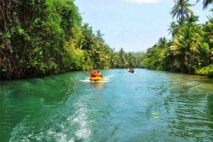 Sungai Maron wisata di pacitan